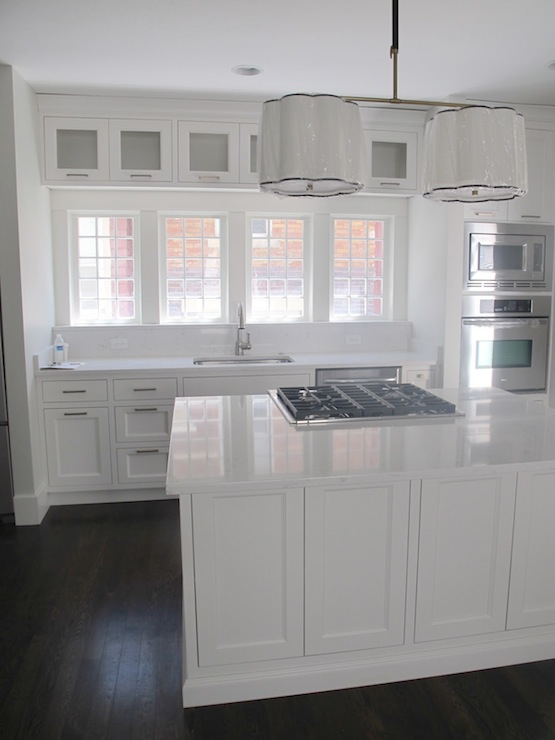 Cambria Torquay Contemporary Kitchen Benjamin Moore