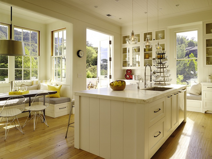 Dining Nook Traditional Kitchen Ken Linsteadt Architects