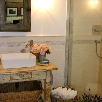 French Country Bathroom, French, bathroom, The Polished Pebble