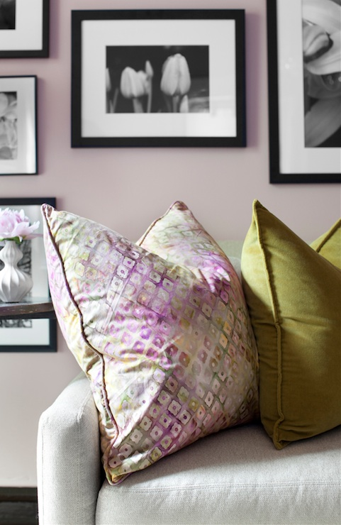 Blush Pink Pillow Design Ideas