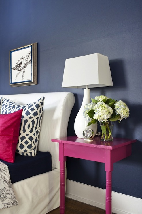Pink and blue bedroom contemporary bedroom decor demon for Pink and blue bedroom