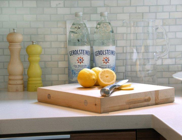 carrara subway tile contemporary kitchen cutler