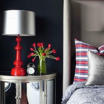 Mirrored Nightstand, Contemporary, bedroom, Decor Demon