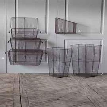 Assorted Wire Baskets