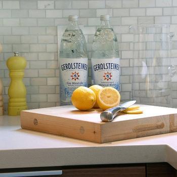 Carrara Subway Tile, Contemporary, kitchen, Cutler Design Construction