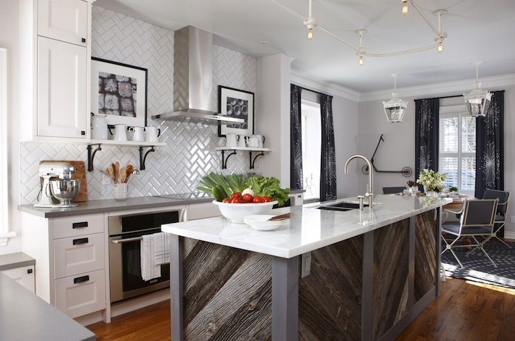 Sarah Richardson Design   Herringbone Subway Tile view full sizeIkea Kitchen Cabinets   Contemporary   kitchen   Para Paints  . Sarah Richardson Kitchen Designs. Home Design Ideas