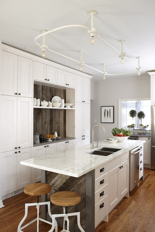 Ikea kitchen cabinets contemporary kitchen para paints mennonite grey sarah richardson - Kitchen design expo ...