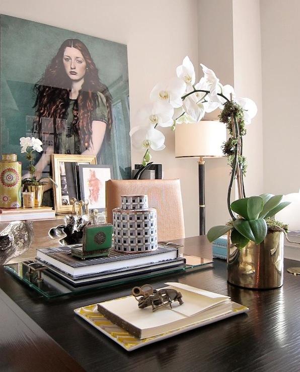 Black Desk Design Decor Photos Pictures Ideas