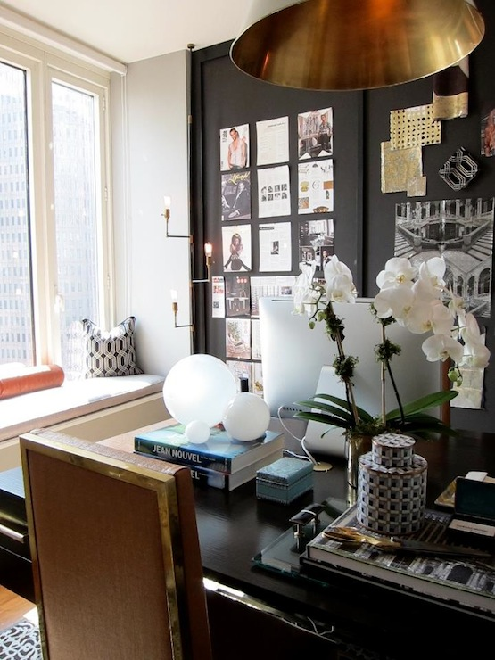 Black accent wall contemporary denlibraryoffice carlyle black accent wall sciox Choice Image