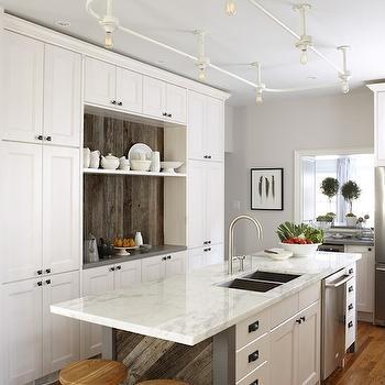 Ikea Kitchen Cabinets, Contemporary, kitchen, Para Paints Mennonite Grey, Sarah Richardson Design