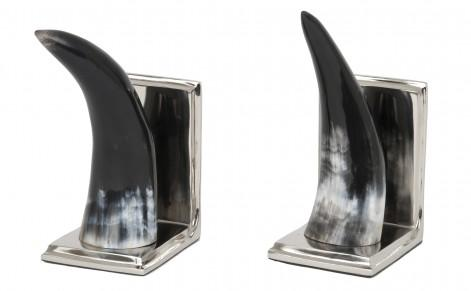Horn Bookends   Tabletop   Accessories | Jayson Home