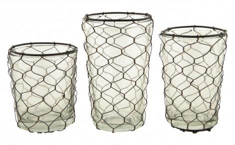 Delightful MARINA VOTIVES   Tabletop   Accessories   Jayson Home