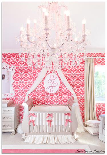 Captivating Wallpaper For Girl Nursery