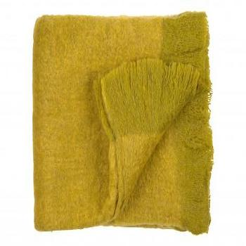 WOOL THROW, AVOCADO, Bedding & Blankets, Accessories, Jayson Home
