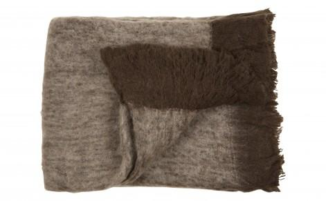 WOOL THROW, BROWN, Bedding & Blankets, Accessories, Jayson Home