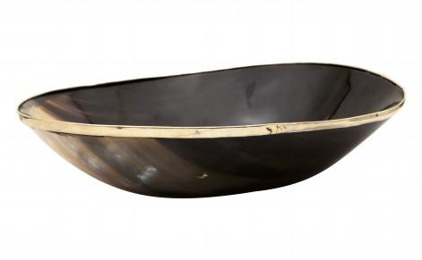 TYROL HORN BOWL   Large   Tabletop   Accessories | Jayson Home