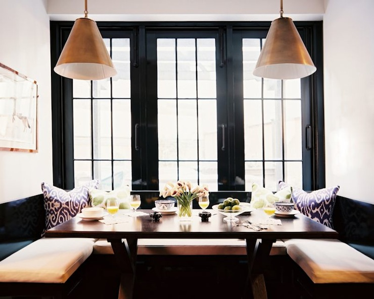 Goodman Hanging Lamp Contemporary Kitchen Lonny Magazine