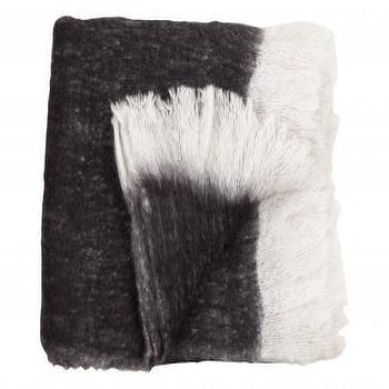 WOOL THROW, INK, Bedding & Blankets, Accessories, Jayson Home