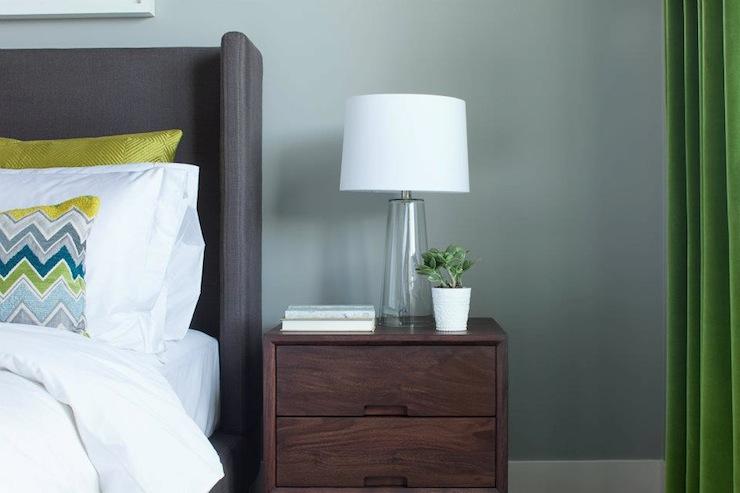 Gray Green Walls Design Ideas