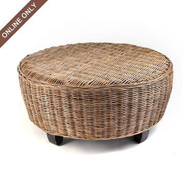Prime Wicker Hotel Caribe Ottoman At Kirklands Pabps2019 Chair Design Images Pabps2019Com