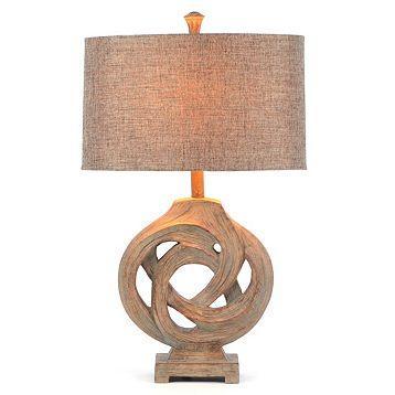 Gray Driftwood Knot Table Lamp At Kirklands