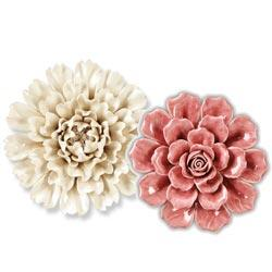 Wall Flowers Decor decor - ceramic wall flowers - rsh catalog