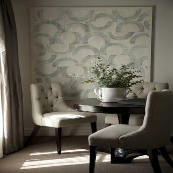 Tufted Dining Room Chairs, Transitional, dining room, John Jacob Interiors