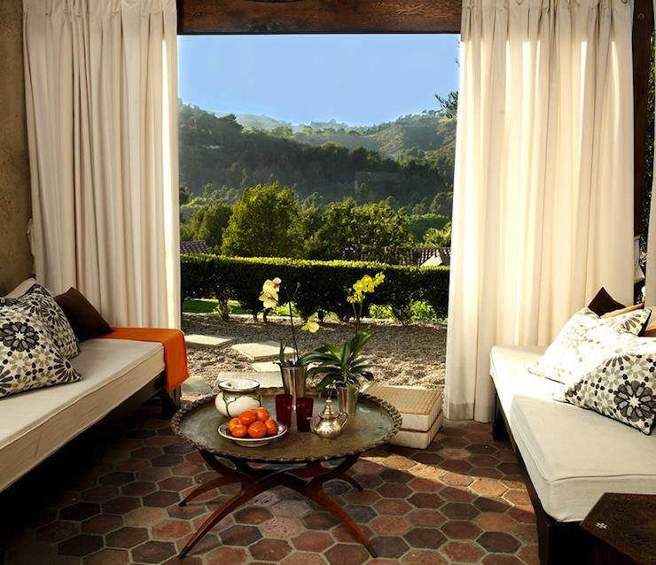 terracotta living room designs hex terracotta tile floor mediterranean living room martyn