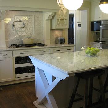 Hicks Pendants Kitchen Island, Transitional, kitchen, West End Cabinet Company
