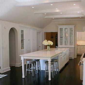 Long Kitchen Island, Traditional, kitchen, West End Cabinet Company