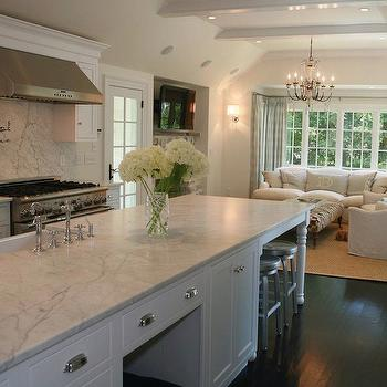Open Floor Plan Kitchen, Traditional, kitchen, West End Cabinet Company