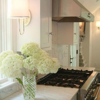 Kitchen with Marble Countertops, Traditional, kitchen, West End Cabinet Company