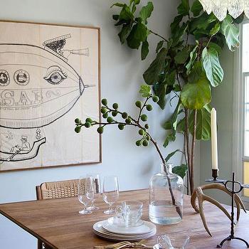 Mid-Century Modern Dining Table, Vintage, dining room, Emily Henderson