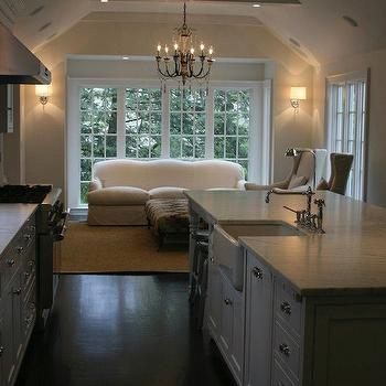 Kitchen Family Room, Traditional, kitchen, West End Cabinet Company