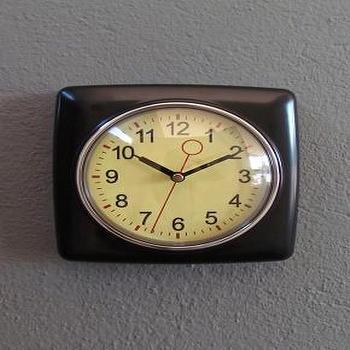 Cog Double Glass Mantel Clock Z Gallerie
