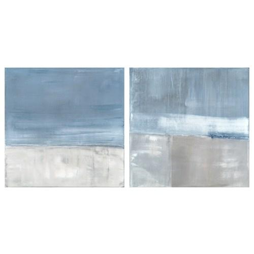 Aidan Gray Decor Wall Art Adrift Set Of 2 Zinc Door