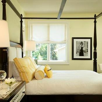 gray and yellow bedroom contemporary bedroom andrew howard