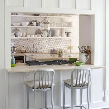 Arabesque Tile Cottage Kitchen Milk And Honey Home