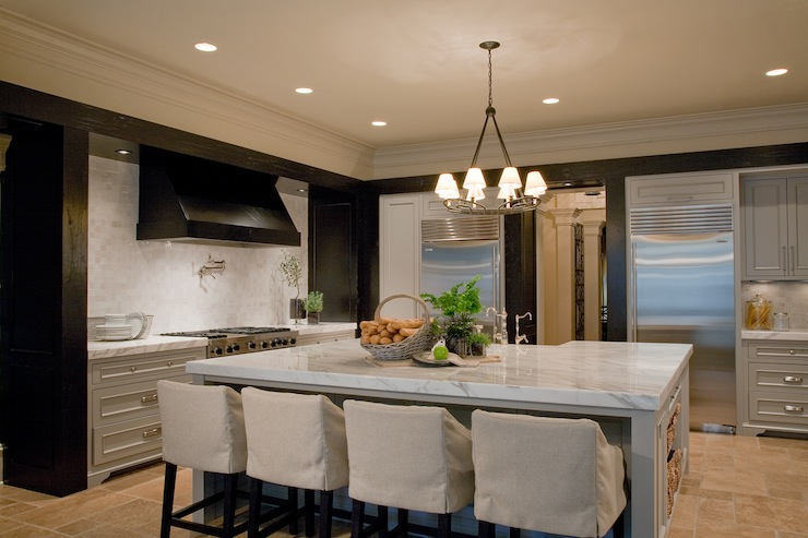 2 Tone Kitchen Contemporary Kitchen Atlanta Homes Lifestyles