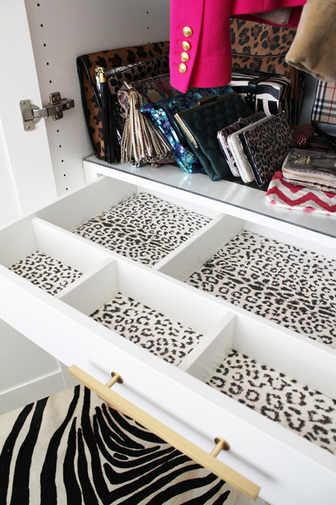 Lined Jewelry Drawers Contemporary closet Made by Girl