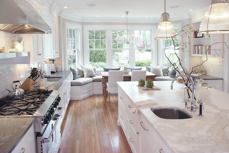 Kitchen Built In Banquette View Full Size
