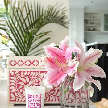 Pink Bone Inlay Box, Cottage, living room, Porchlight Interiors