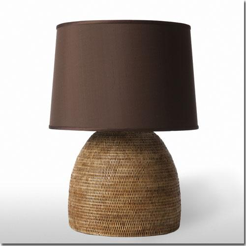 Pfeifer Studio Rattan Table Lamp