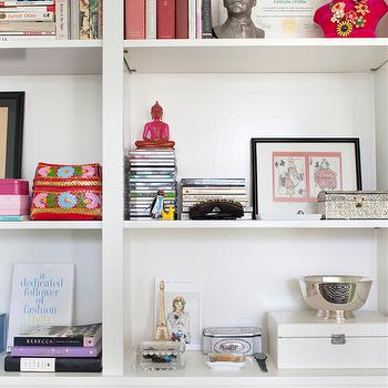 Styled Bookcase, Contemporary, living room, Burnham Design