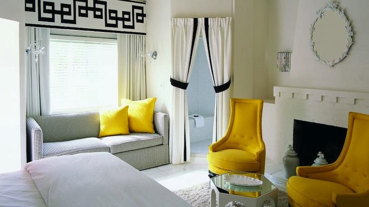 Hollywood Regency Decor - Hollywood Regency - bedroom - Kelly Wearstler