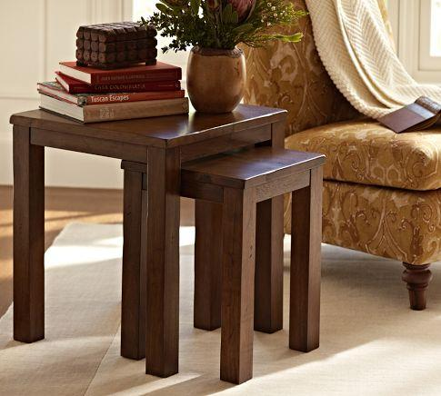 Newton Nesting Tables Pottery Barn