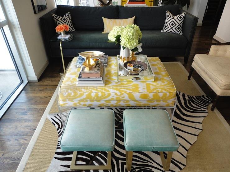 Yellow Bird Dining Room Cushion Pad