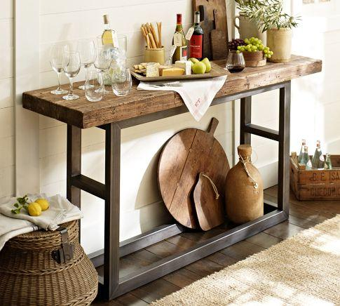 Griffin Console Table Pottery Barn - Pottery barn pine table