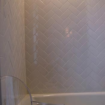 Subway Tile Patterns View Full Size Amazing Bathroom With White Porcelain Drop In Tub Shower Surround Herringbone Chevron