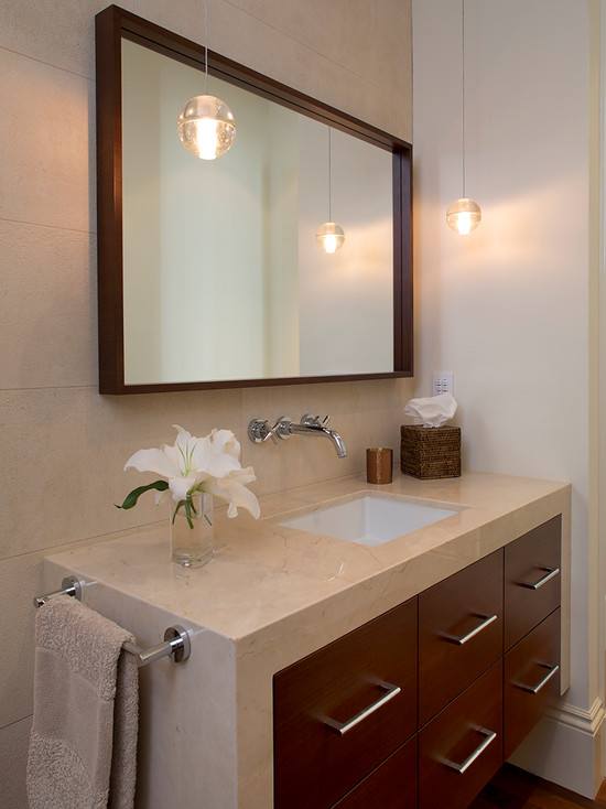Ceiling Mounted Bathroom Mirrors Design Ideas